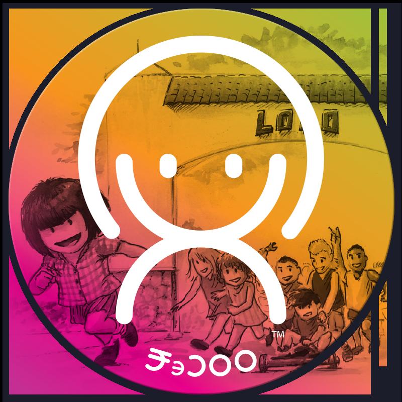 Xoco and her friends - Xocololo Sticker